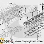 Cummins ISME345-30 Engine parts   Cummins Engine parts by model
