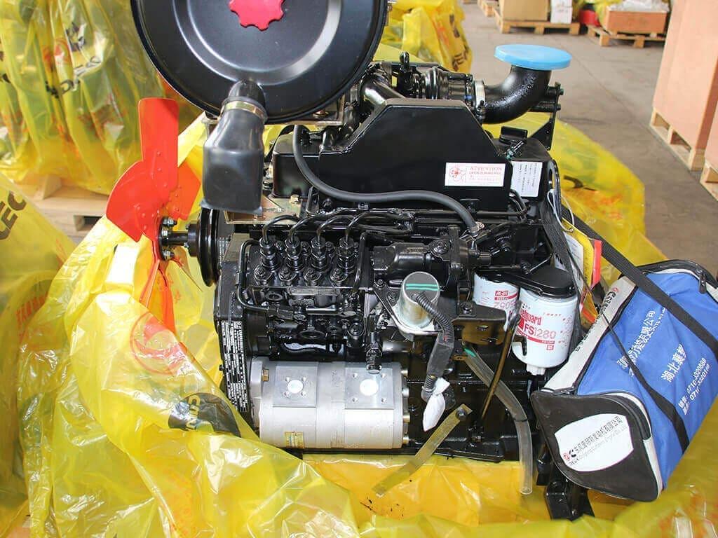 Cummins 4BT3.9-C80   Construction diesel engine