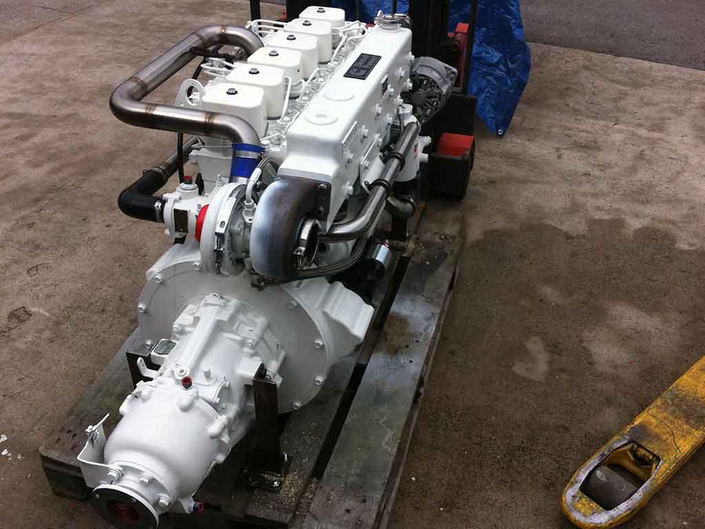 Cummins 6BTA5.9-M150 | Marine propulsion engine