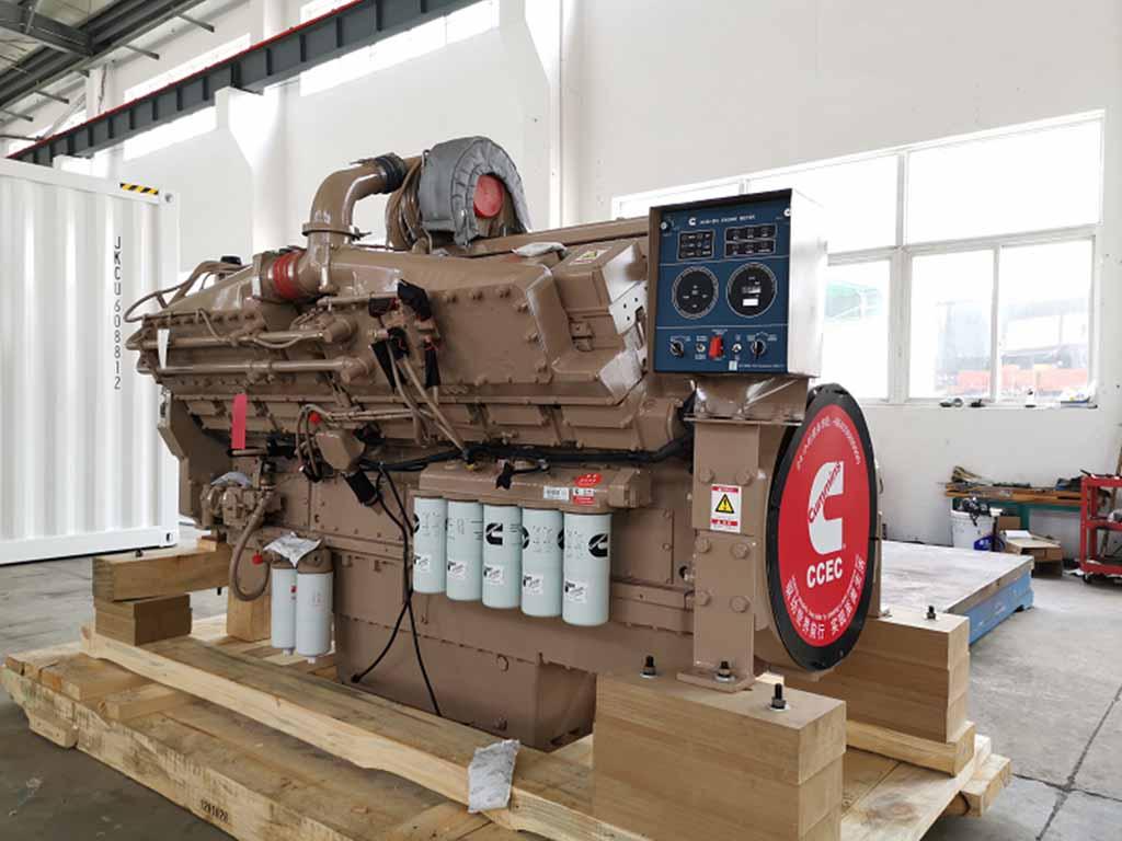 Cummins KTA50-M2 (1600HP) | Marine propulsion diesel engine
