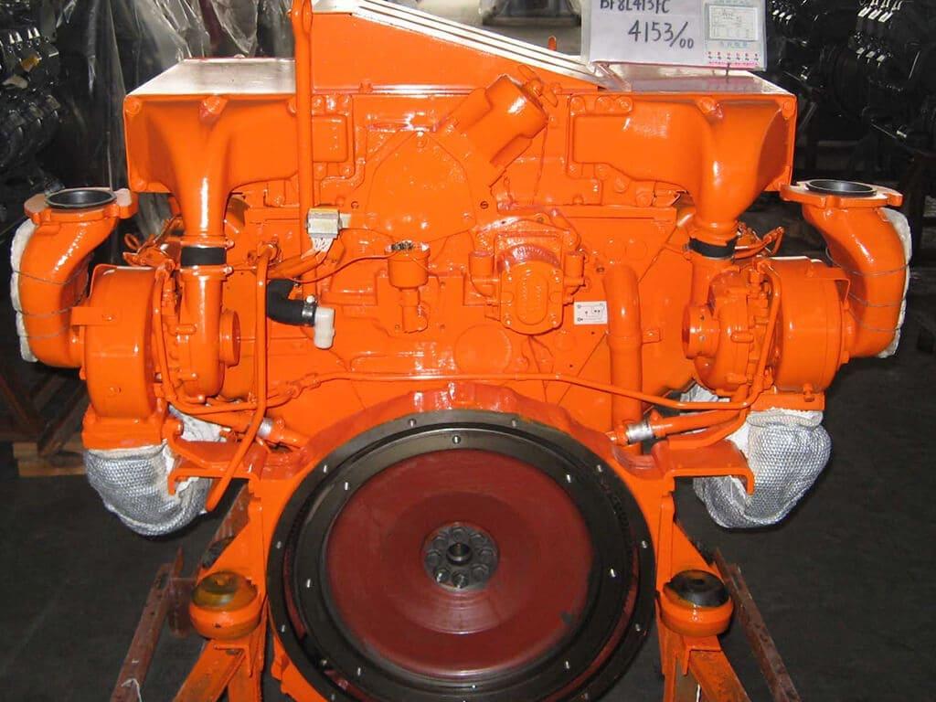 Deutz F8L413F | Construction diesel engine