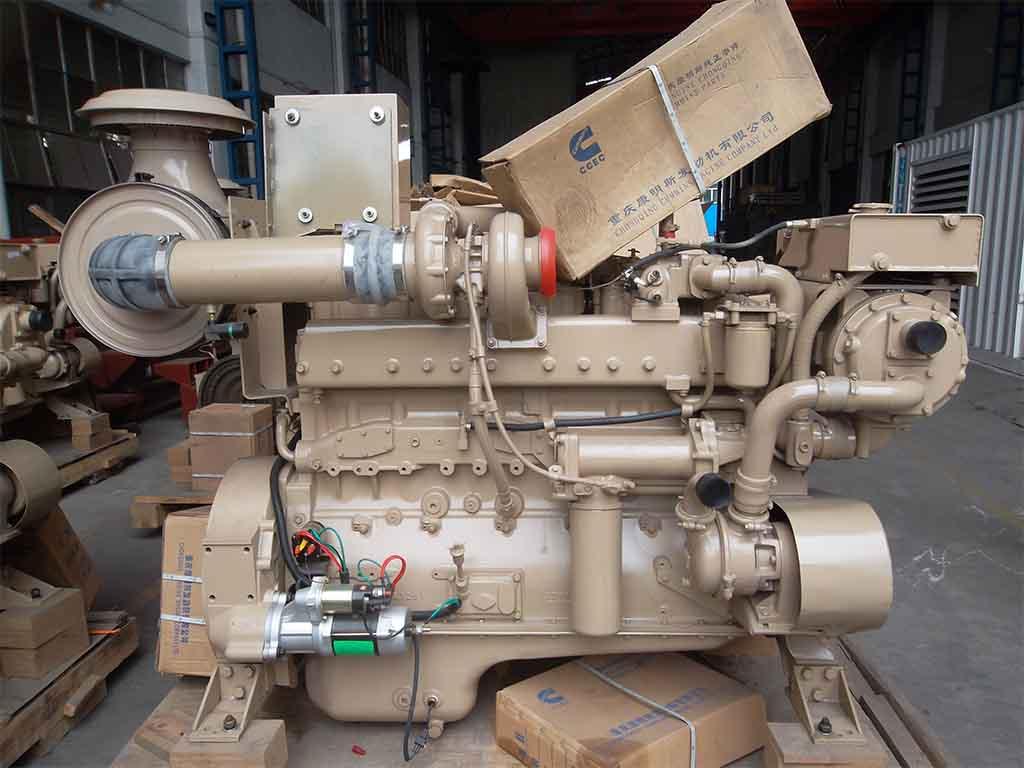 Cummins NTA855-DM205 | Marine auxilliary engine