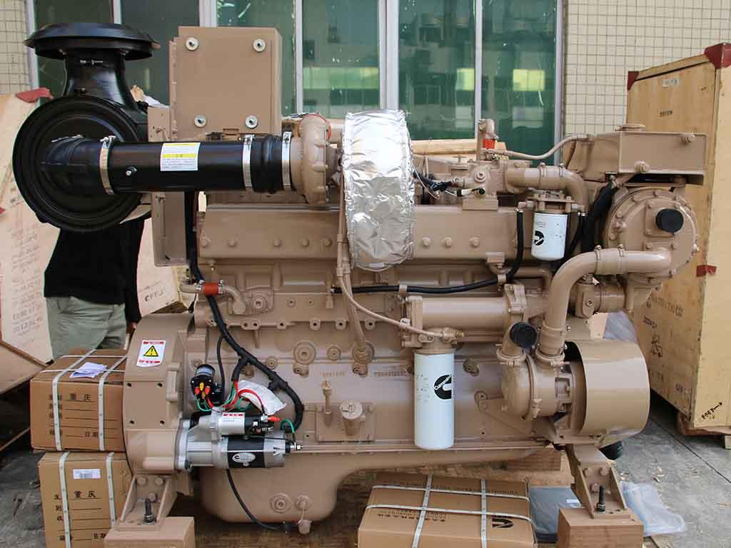Cummins NTA855-M300   Marine propulsion diesel engine