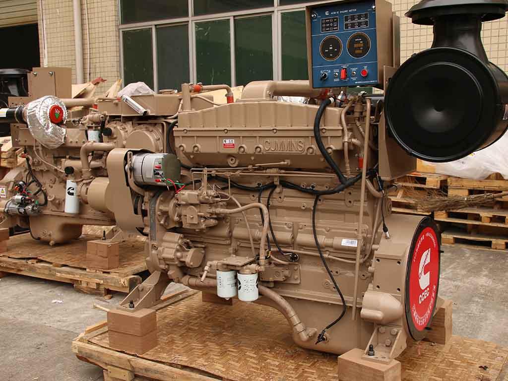 Cummins NTA855-M350 | Marine propulsion diesel engine