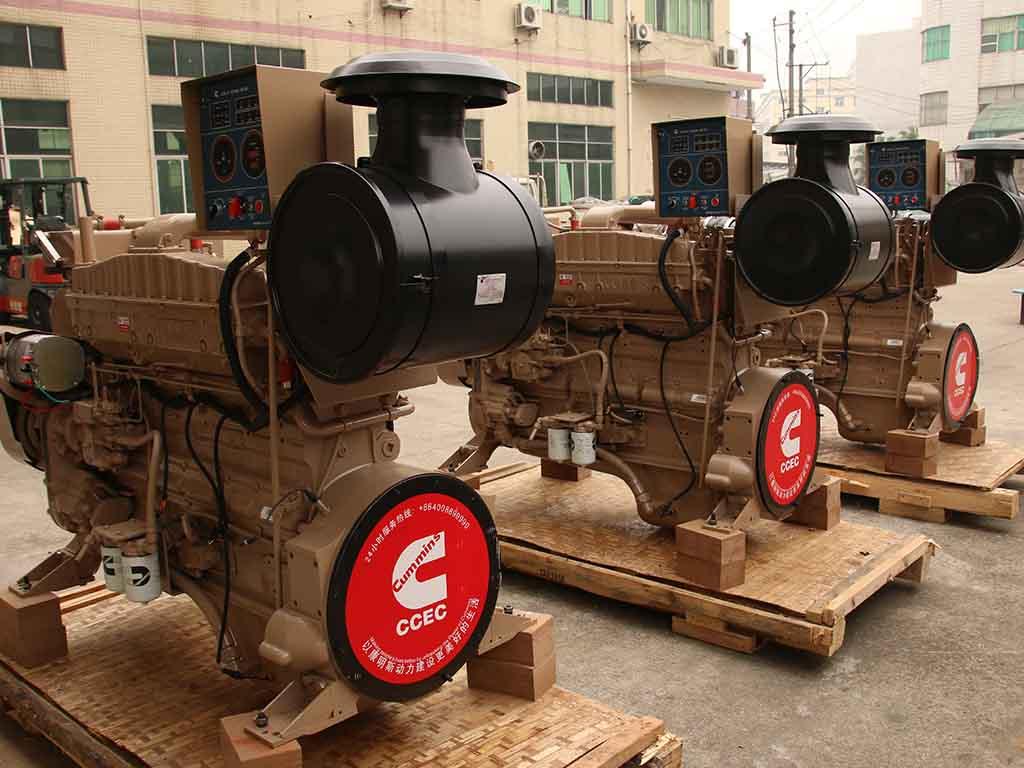 Cummins NTA855-M400   Marine propulsion diesel engine