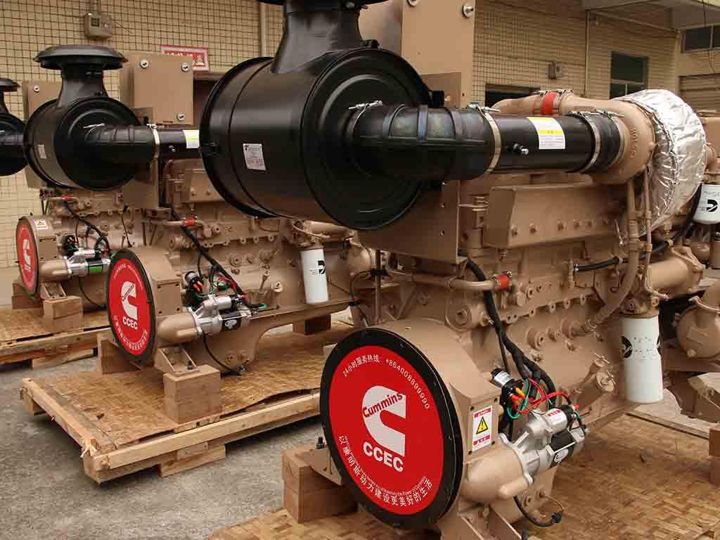 Cummins NTA855-M450   Marine propulsion diesel engine