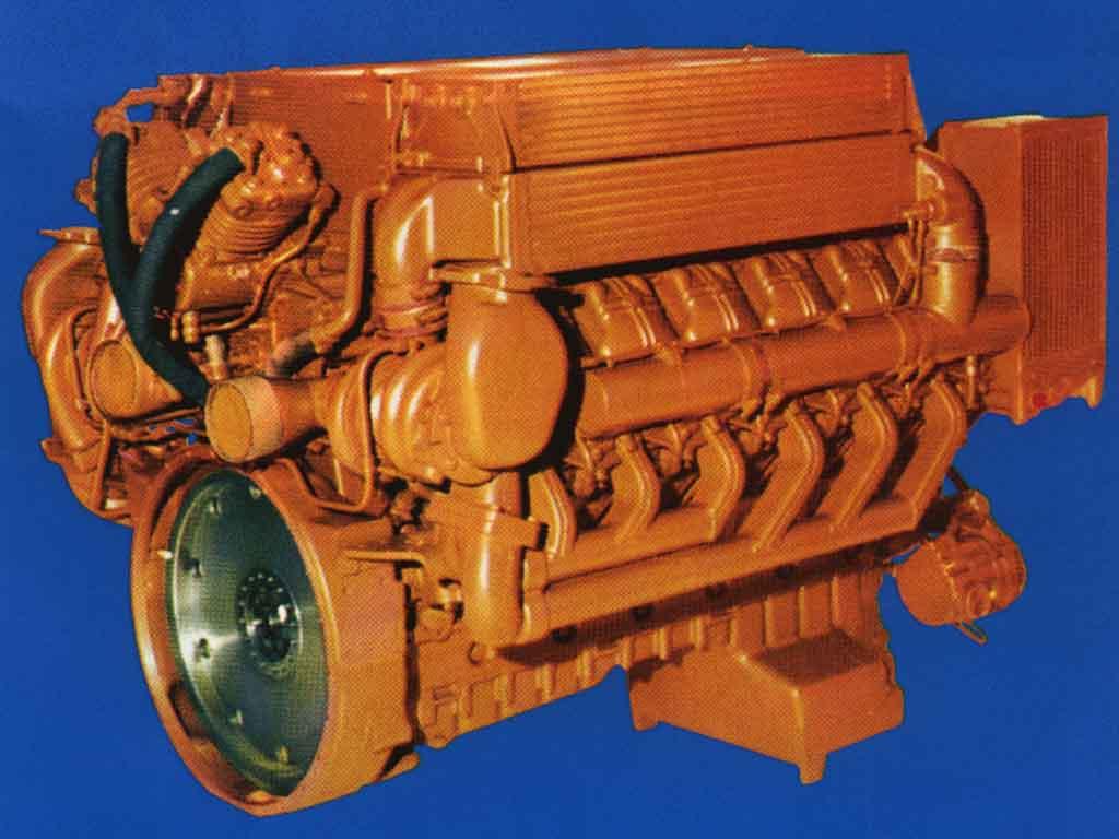 Deutz bf12l413fc | Generator-drive diesel engine